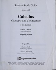 Cover of: Study guide for use with calculus