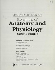 Cover of: Student Workbook for Essentials of Anatomy and Physiology | Valerie C. Scanlon