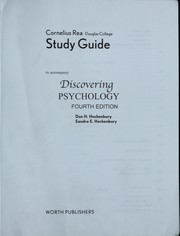 Cover of: Discovering Psychology Study Guide |