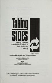 Cover of: Taking Sides |