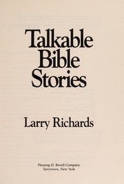 Cover of: Talkable Bible stories