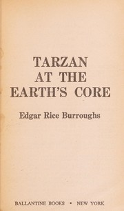 Cover of: Tarzan at the earth's core
