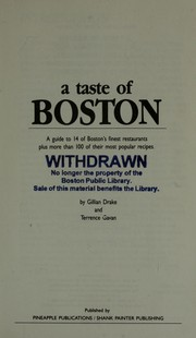 A Taste of Boston