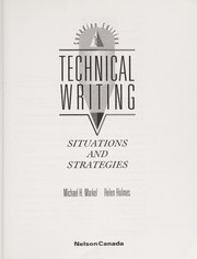 Cover of: Technical Writing |