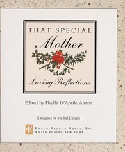 Cover of: That Special Mother | Phyllis D