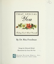 Cover of: That Special You | Rita Freedman