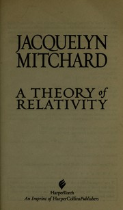 Cover of: A theory of relativity