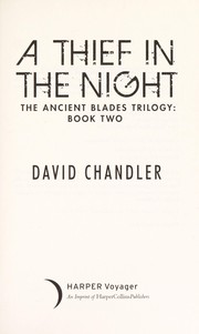Cover of: A thief in the night | David Chandler