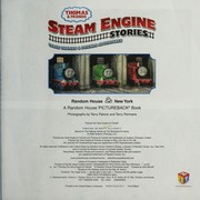 Cover of: Steam engine stories : three Thomas & friends adventures
