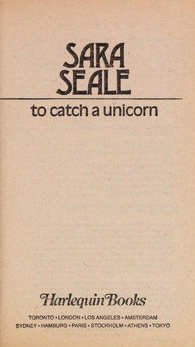 To Catch a Unicorn (Harlequin Presents..., 97) by