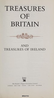 Cover of: Treasures of Britain and treasures of Ireland |