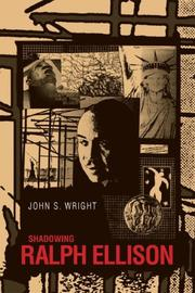 Cover of: Shadowing Ralph Ellison