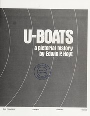 Cover of: U-Boats: A Pictorial History