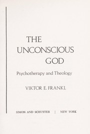 Cover of: Unconscious God