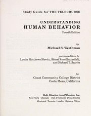 Cover of: Study Guide for The Telecourse Understanding Human Behavior |