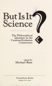 Cover of: But is it science?