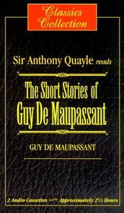 Cover of: The Short Stories of Guy De Maupassant (Classics Collection) |