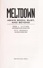 Cover of: Meltdown