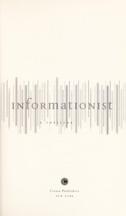 Cover of: The informationist | Taylor Stevens