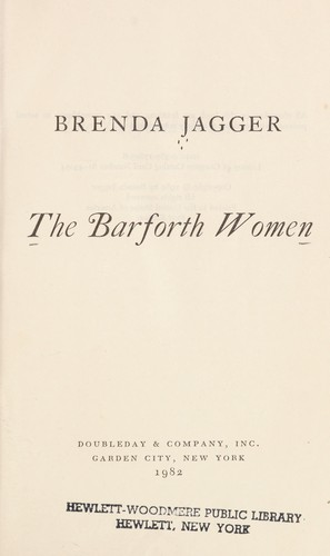 The Barforth women by Brenda Jagger