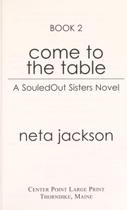 Cover of: Come to the table