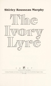 Cover of: The ivory lyre