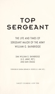 Cover of: Top Sergeant