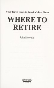 Cover of: Where to retire