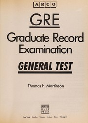 GRE by Thomas H. Martinson