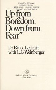 Up from boredom, down from fear