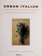 Cover of: Urban Italian | Andrew Carmellini