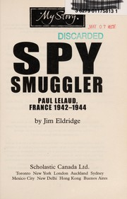 Cover of: Spy smuggler | Jim Eldridge