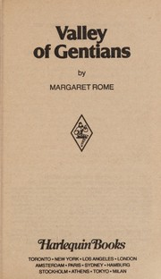 Cover of: Valley of the Gentians | Margaret Rome