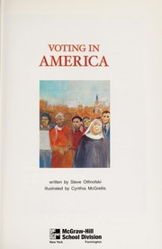 Cover of: Voting in America (McGraw-Hill : leveled books) | Steve Otfinofski