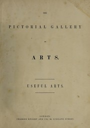 Cover of: The pictorial gallery of arts