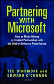 Cover of: Partnering with Microsoft | Ted Dinsmore