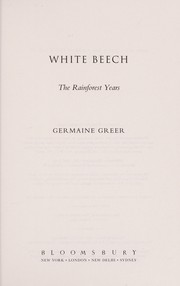 Cover of: White beech