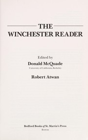 Cover of: The Winchester reader