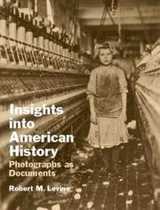 Cover of: Insights into American History