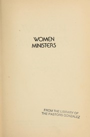 Cover of: Women ministers |