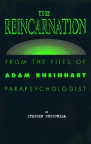 Cover of: The reincarnation