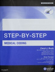 Cover of: Step-by-step medical coding workbook | Carol J. Buck