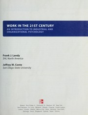Cover of: Work in the 21st Century | Frank J. Landy