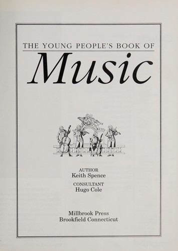 The young people's book of music by Keith Spence