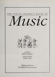Cover of: The young people's book of music | Keith Spence
