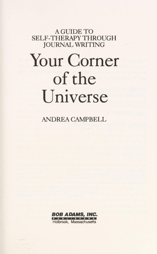 Your corner of the universe by Andrea Campbell