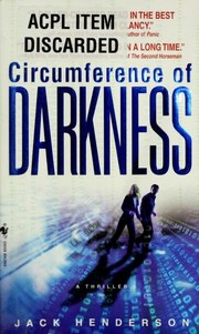 Cover of: Circumference of Darkness | Jack Henderson