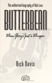 Cover of: Butterbean | Davis, Rick