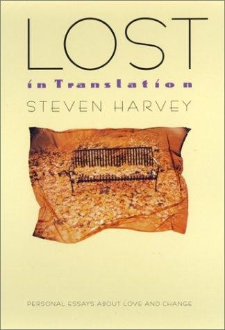 Lost in translation by Harvey, Steven