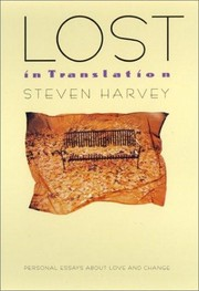 Cover of: Lost in translation | Harvey, Steven